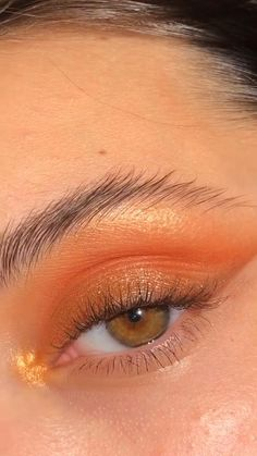 Bronzy Eye Makeup, Dramatic Makeup, Skin Makeup, Cute Makeup Looks, Makeup Eye Looks, Eye Makeup Art, Beauty Makeup, Hooded Eye Makeup Tutorial, Makeup Looks Tutorial