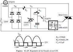 Resultado de imagen para circuito regulador de velocidad de motores dc con UJT