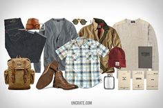 Garb: Desk to Dunes. Go from the office to the outdoors with this collection of Fall-ready gear