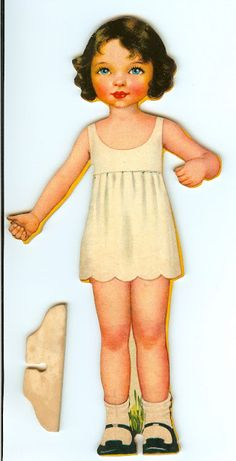 Wood Dolls with Roundabout Dresses artist Betty Campbell - Eugenia - Picasa Albums Web