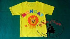 Lion, felt tshirt