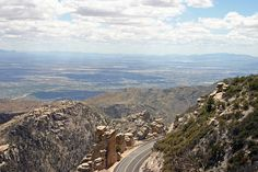 Mt. Lemmon... I remember my grandpa driving down this highway way faster than he should of. Miss him