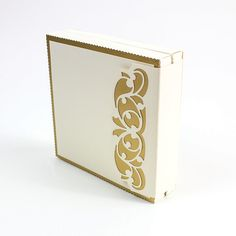 Ornate Elegance Header Fold Die Set – Item 596e   Tonic Studios Ltd