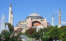 To witness how architecture and art can contribute to life in such a grand scope by visiting Hagia Sophia.