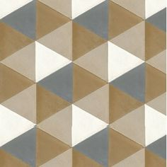 "Mission Hexagonal Agatha 8"" Hexagon Encaustic Cement Tile 