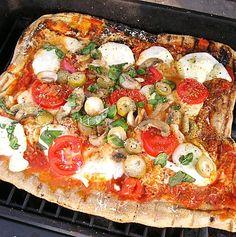 Grilled pizza - my next bbq challenge.
