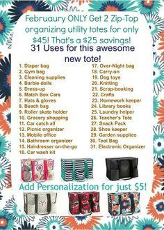 Its here! The $10 zip top!
