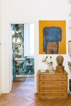 L'appartamento a Roma di Studio Strato Pointing House