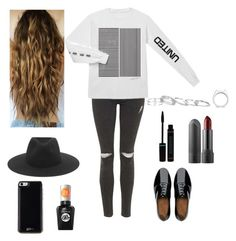 Taya Smith Inspired Outfit by rachellyyyyy on Polyvore featuring polyvore, fashion, style, Topshop, FitFlop, Kendra Scott, kiz&Co., rag & bone, Gooey and Sally Hansen