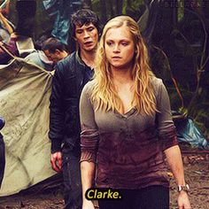Bellamy & Clarke - Who we are and who we need to be to survive are very different things. 1/4