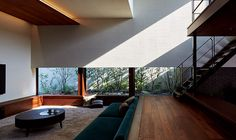 Living Room Blinds, Cozy Living Rooms, My Living Room, Minimalist Interior, Minimalist Home, Zen Interiors, Interior Architecture, Interior Design, Japanese House