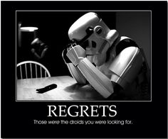 Those WERE the droids...