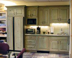 Distressed Green Kitchen Cabinets antique sage green cabinets | kitchen | pinterest | kitchens, sage