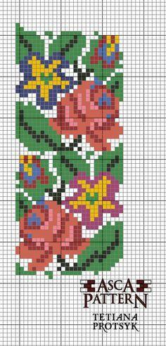 Modern Cross Stitch Patterns, Cross Stitch Designs, Simple Embroidery, Embroidery Patterns, Cross Stitch Cushion, Craft Accessories, Loom Beading, Crafty, Handmade