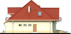 DN Karen is a house with an attic, basement with garage single user in a block building. The project is. Home Fashion, House Plans, Garage, Villa, Cottage, Attic, House Design, How To Plan, Mansions