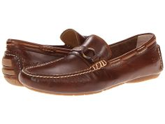 Frye West Ring Driver Whiskey Smooth Pull Up - Zappos.com