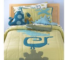@Libby Grantham --this inspires me to sew dinosaur pillows for the boys. You could totally honey-pied this!!!