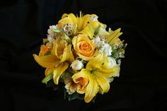 Bride's Yellow Bouquet by nancycno. For my soon to be sister Lindsay.