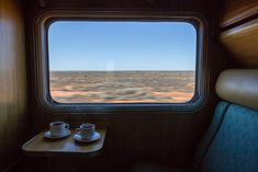 View from The Ghan.