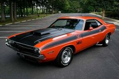 Vintage Cars Muscle 70 Dodge Challenger T/A 340 SixPack Dodge Challenger, Mopar, Dodge Muscle Cars, Best Classic Cars, Mustang Cars, Ford Mustang, Us Cars, Sport Cars, American Muscle Cars