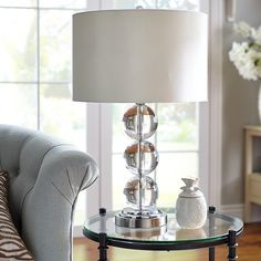 Pier One Table Lamps Adorable Teardrop Luxe Lamp  Traditional  Table Lamps  Pier 1 Imports Soft Design Decoration