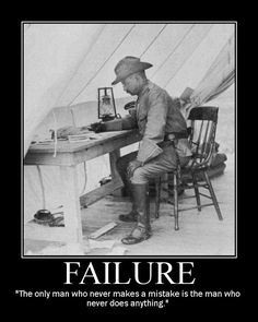 theodore roosevelt failure mistake quote motivational poster. This site has several quotes.