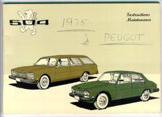Peugeot 504 Manual.