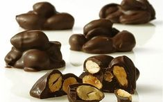 Greek Sweets, Homemade Sweets, Chocolate Desserts, My Sunshine, Truffles, Fudge, Caramel, Cooking Recipes, Xmas