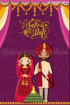 Indian Wedding Invitation Cards, Wedding Invitation Video, Creative Wedding Invitations, Wedding Invitation Wording, Bridal Shower Invitations, Invitation Design, Custom Invitations, Wedding Stationery, Invites
