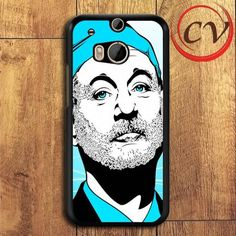 Bill Murray Ghost Buster HTC One M8 Black Case