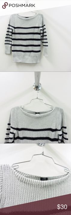 J Crew Sweater Boatneck style and three quarter sleeves. Excellent condition! J. Crew Sweaters Crew & Scoop Necks