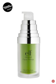 Why we love it: It absorbs oil, prevents flaky skin, and minimizes redness, pores and fine lines—so is it any wonder e.l.f. Mineral Infused Face Primer is a Beauty Concierge fave? Use it every day to prep your makeup for flawless, smooth skin and a look that lasts beyond your 9 to 5. For even more of our product picks, visit Target.com/beautyconcierge.