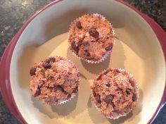 Juice pulp muffins