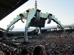In 2009 was i to this amazing concert with U2.  It was so overwhelming.  This experience will i never forget.