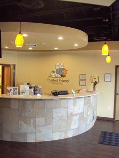 Roswell Vet - Front of Reception Desk