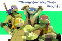 This is so cute!!!!!! I love how Raph looks extremely cool like all the time XD