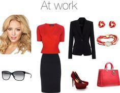 """Basic working girl"" by julie-lesuisse on Polyvore"