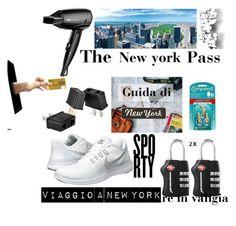 """Viaggio a New York, cosa  non deve mancare in valigia"" by karin-varignani on Polyvore featuring Élitis"