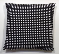 Decorative Pillow Cover Check me from by iDecorateWithPillows