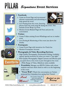 #Event Services