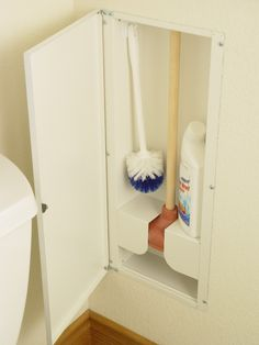 Home Depot sells online as well - Hy-dit 100, Toilet plunger storage kit.