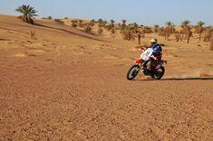 AL RALLYE D'ALGERIE IL Trofeo MotoRally in Algeria