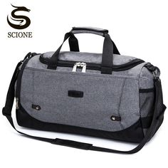 c94861a28d Scione Nylon Travel Bag Large Capacity Men Hand Luggage Travel Duffle Bags  Nylon Weekend Bags Women