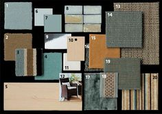 "Creating texture ""moodboards"""