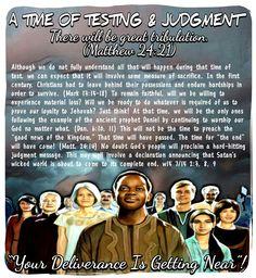 There will be great tribulation. (Matthew 24:21)