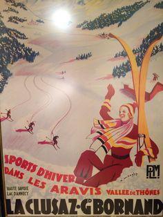 Vintage Travel and Tourism Ads of the (Page Ski Vintage, Vintage Ski Posters, Travel Ads, Travel And Tourism, Evian Les Bains, Ville France, France Art, Ski Holidays, Advertising Poster