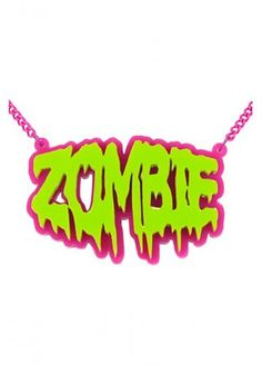 EXTREME LARGENESS ZOMBIE NECKLACE