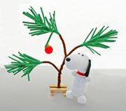 Charlie Brown Christmas Tree and Snoopy Sock Doll and other crafts