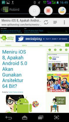 Link Bubble Pro – Buka Link Website Jauh Lebih Praktis http://www.aplikanologi.com/?p=26788