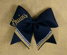 Custom cheer bow you pick colors Big Cheer Bow by CraftyOhBows